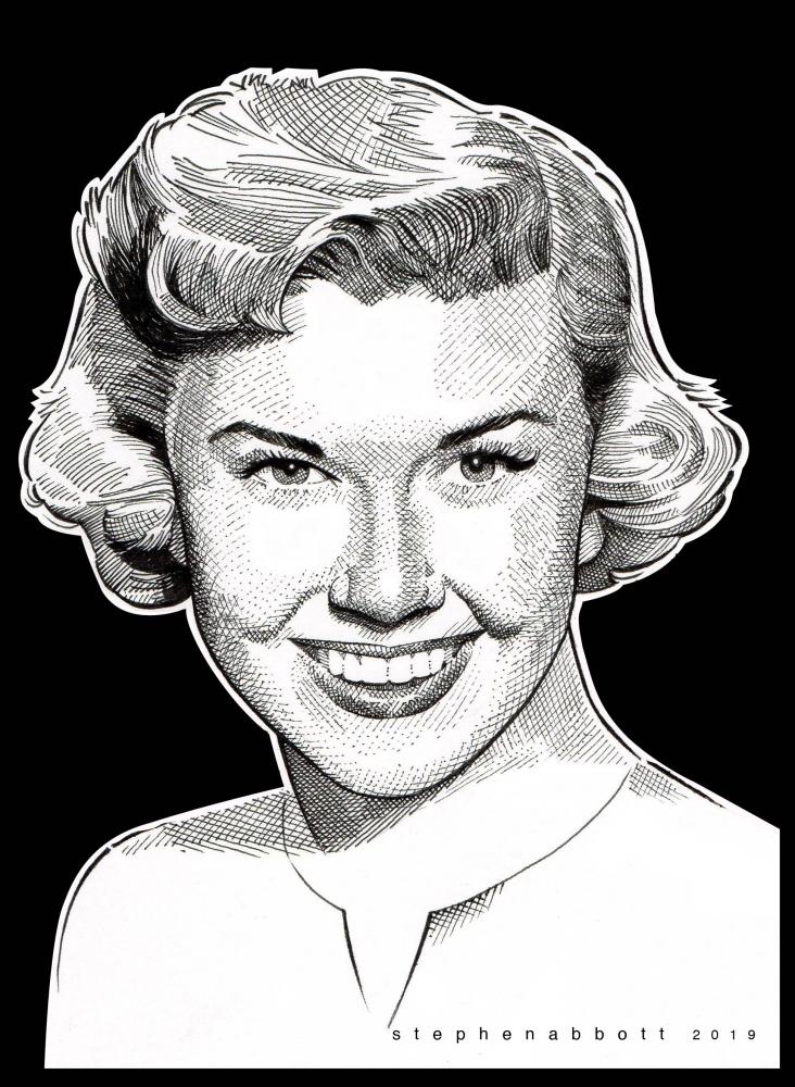 Doris Day by Stefanosart
